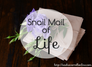 snail mail of life   with grit & grace   http://sashacarrollonline.com
